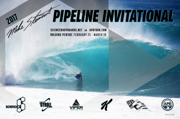 【SCIENCE BODYBOARD】Mike Stewart PIPELINE INVITATIONALの開催が決定!!