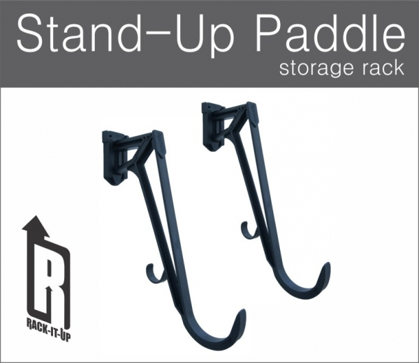 RACK IT UP SUP BOARD&PADDLE RACK