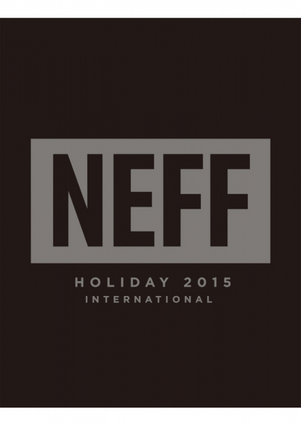 NEFF HOLIDAY15 LOOK BOOKアップしました!